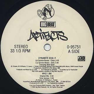 Artifacts / Dynamite Soul label