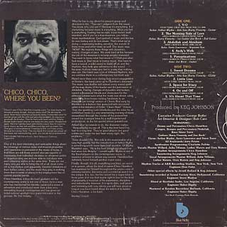 Chico Hamilton / Peregrinations back