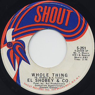 El Shobey & Co. / Whole Thing front