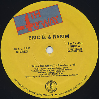 Eric B. & Rakim / Move The Crowd(12