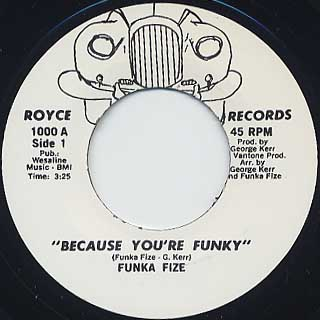 Funka Fize / Because You're Funky