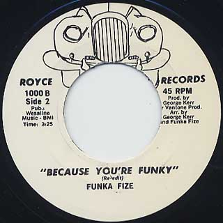 Funka Fize / Because You're Funky back