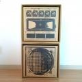 L.S.P SOUND BOX 2台SET「LISTENER リスナー」