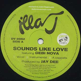 Illa J / Sounds Like Love label
