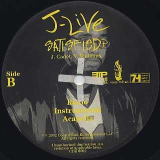 J-Live / Satisfied? label