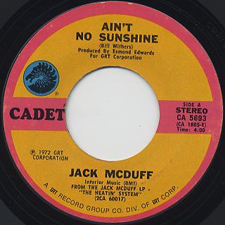 Jack McDuff / Ain't No Sunshine