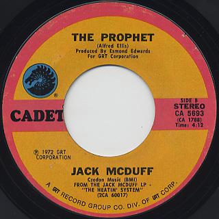Jack McDuff / Ain't No Sunshine back