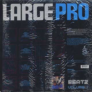 Large Pro / Beatz Volume 1 back