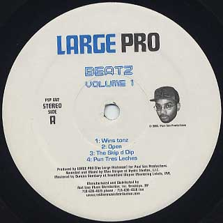 Large Pro / Beatz Volume 1 label