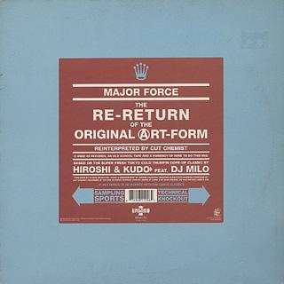 Major Force / The Re-Return Of The Original Art-Form (Reinterpreted By Cut Chemist)