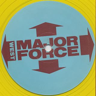 Major Force / The Re-Return Of The Original Art-Form (Reinterpreted By Cut Chemist) label