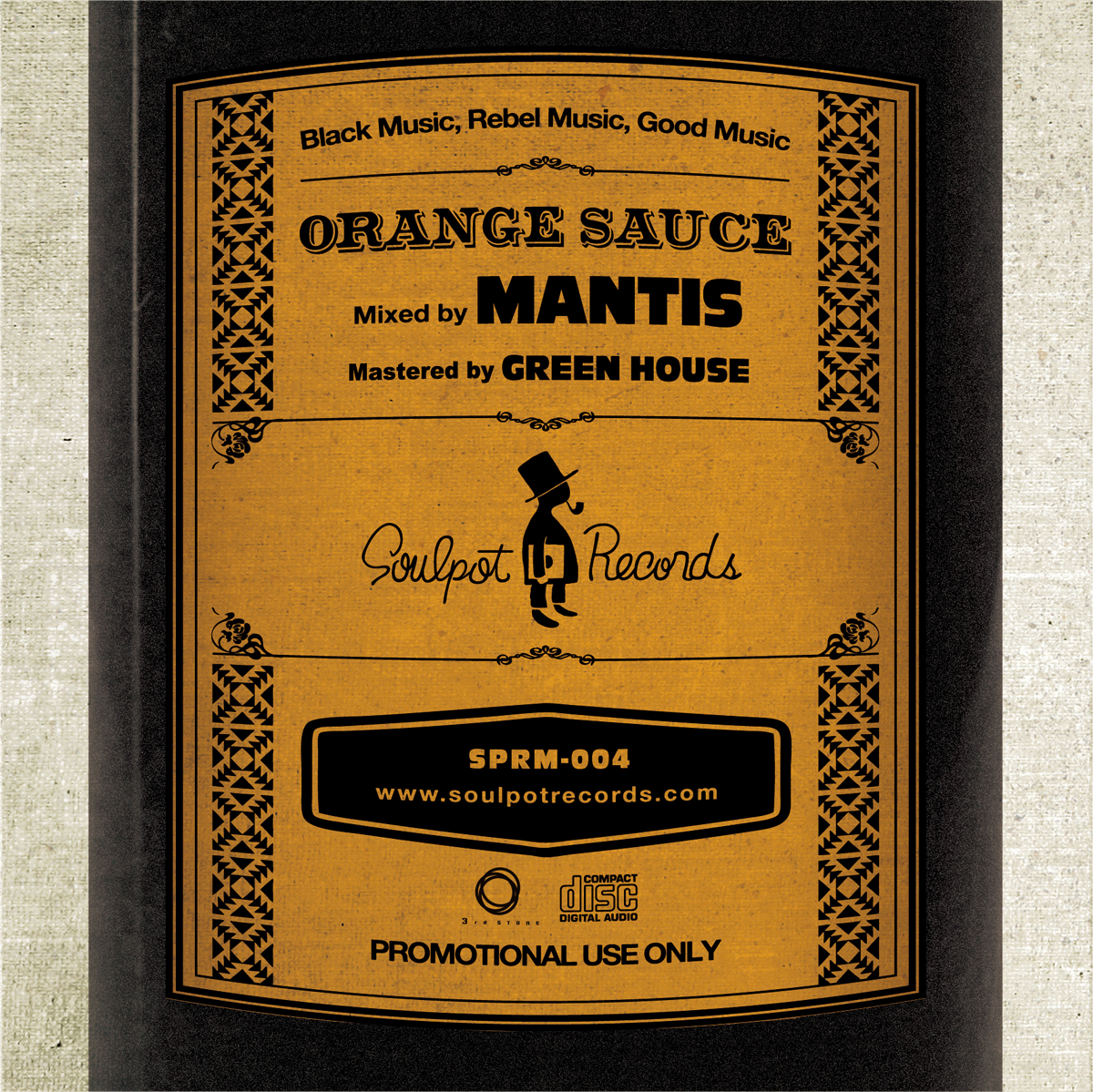 Mantis / Orange Sauce back