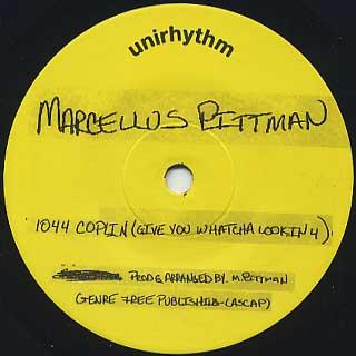 Marcellus Pittman* M. Pittman - M. Pittman EP