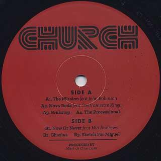 Mark De Clive-Lowe / Church label