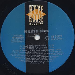 Nasty Nas / Half Time label