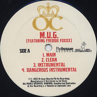 O.C. / M.U.G. label