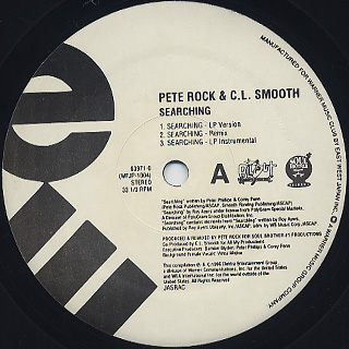 Pete Rock & C.L.Smooth / Searching (JPN) front