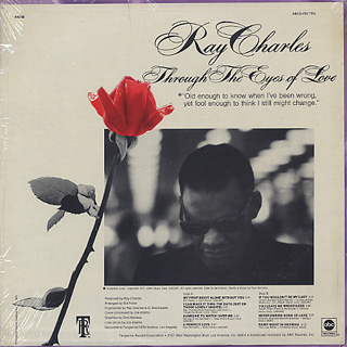 Ray Charles / Through The Eyes Of Love back