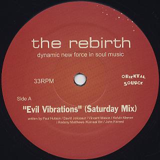 Rebirth / Evil Vibrations (Saturday Mix) back