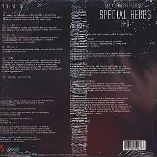 Metal Fingers / Special Herb 9+0 back