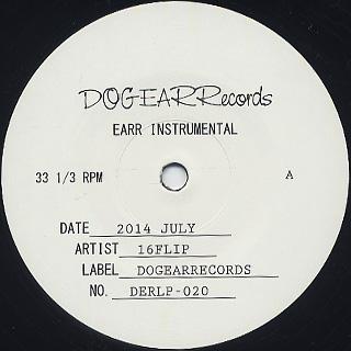 16 Flip / EARR Instrumental back