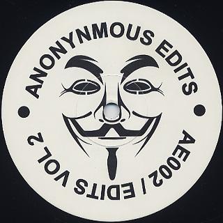 Anonynmous Edits / Edits Vol 2