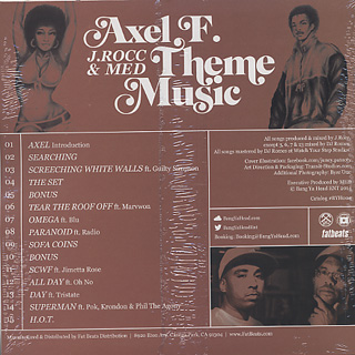 Axel F.(J.Rocc & MED) / Theme Music back