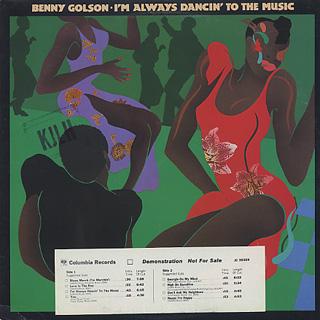Benny Golson / I'm Always Dancin' To The Music