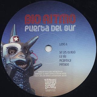 Bio Ritmo / Puerta Del Sur label
