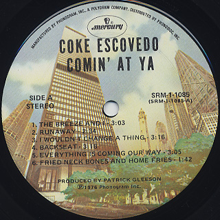Coke Escovedo Disco Fantasy