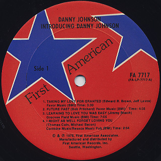 Danny Johnson / Introducing Danny Johnson label