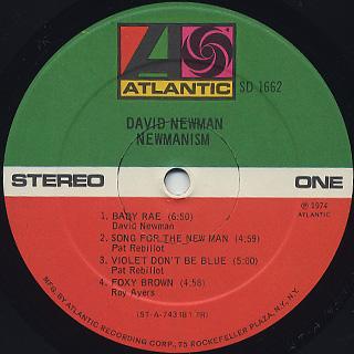 David Newman / Newmanism label