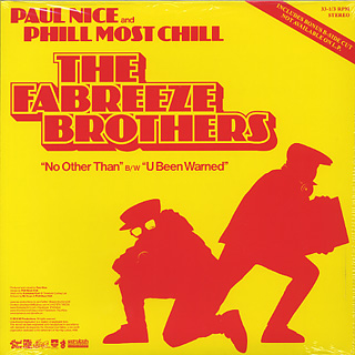 Fabreeze Brothers (Phill Most Chill & Paul Nice) / No Other Than back