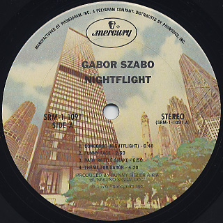 Gabor Szabo / Nightflight label