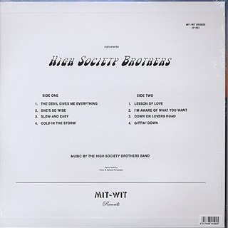 High Society Brothers / S.T. back