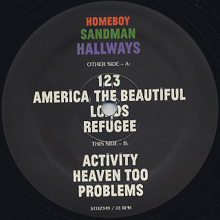 Homeboy Sandman / Hallways label