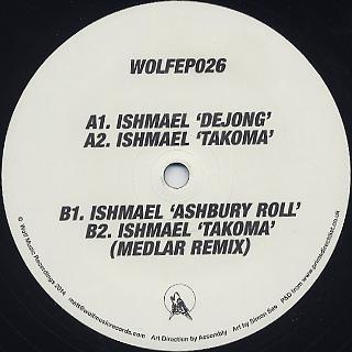 Ishmael / WOLFEP026 back