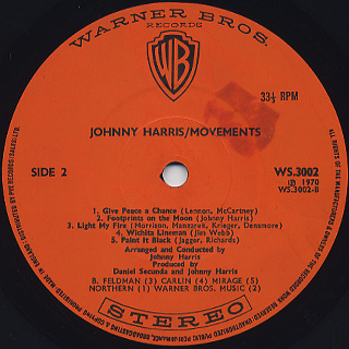 Johnny Harris / Movements label