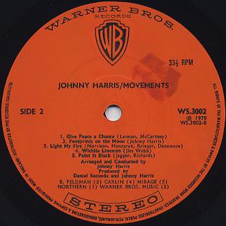 Johnny Harris / Movements label