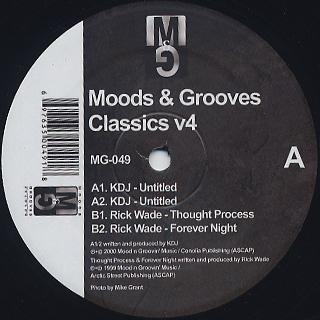 KDJ / Rick Wade / Moods & Grooves Classics vol.4 back