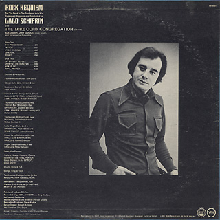 Lalo Schifrin / Rock Requiem back