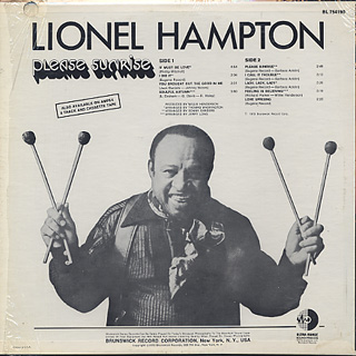Lionel Hampton / Please Sunrise back