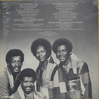 Little Anthony & The Imperials / On A New Street back