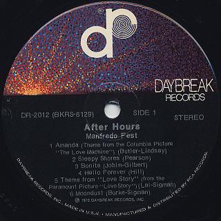 Manfredo Fest / After Hours label