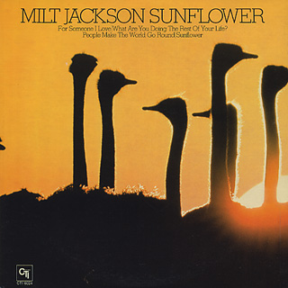 Milt Jackson / Sunflower back