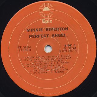 Minnie Riperton / Perfect Angel label