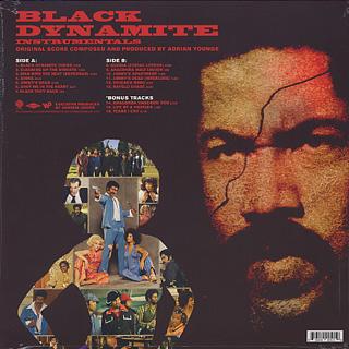 O.S.T.(Adrian Younge) / Black Dynamite - Instrumentals back