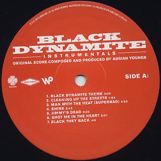 O.S.T.(Adrian Younge) / Black Dynamite - Instrumentals label