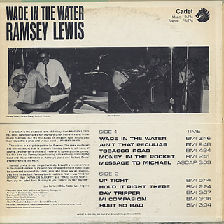 Ramsey Lewis / Wade In The Water back
