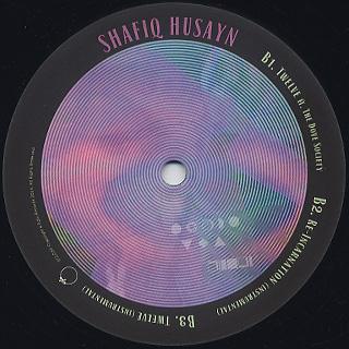 Shafiq Husayn / It's Better For You label